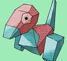 Porygon / Ones and Zeros by supericarus
