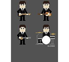 8-Bit Fab Four Photographic Print