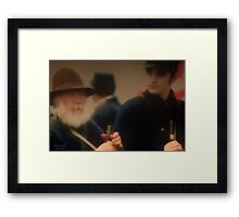 """"""" Glancing Through the Years """" Framed Print"""