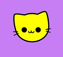 Kawaii Kitty Cats 2048 - tile 4 by hadosabi
