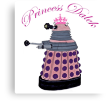 Princess Dalek. Canvas Print