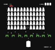 Dr Who Space Invaders by Klay70