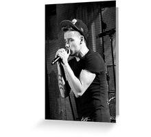 Liam Payne Greeting Card