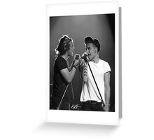 Liam and Harry Greeting Card