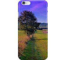 A lonely tree with some scenery around | landscape photography iPhone Case/Skin