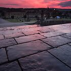 Chatsworth House Cascade Sunset by James Grant