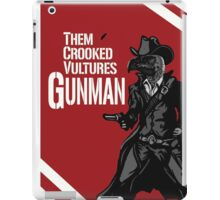 Them Crooked Vultures - Gunman iPad Case/Skin