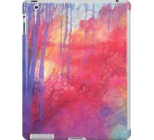 Oltre il sentiero dei faggi d'autunno iPad Case/Skin