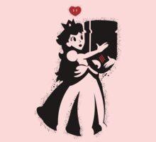 TShirt Princess and Bomb Hugger Banksy Parody by Cidelacomte