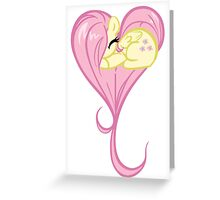 Heart Of Fluttershy Greeting Card