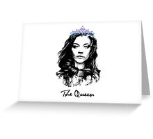 Natalie Dormer / The Queen Greeting Card