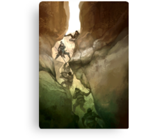 Chasm Fighters Canvas Print