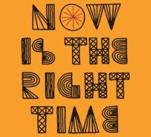 Now is the right time (black) by artemisd