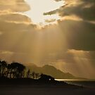Raglan Sunset, New Zealand by Norman Repacholi