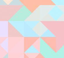 Pastel geometrical design by RosiLorz