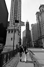 Chicago Stroll - Chicago USA by Norman Repacholi