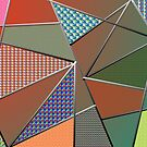 Triangle with pattern by RosiLorz