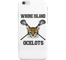 Whore Island Lacrosse team iPhone Case/Skin