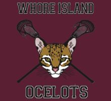 Whore Island Lacrosse team by Raccoon-god
