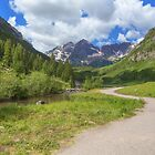 Maroon Bells Images - Walkway to the Wilderness by RobGreebonPhoto
