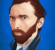 Vincent Van Gogh by self-toon