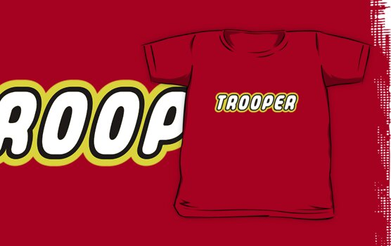 TROOPER by Customize My Minifig by ChilleeW