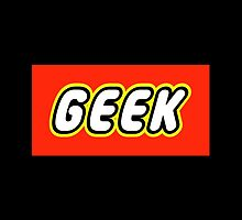 GEEK by Customize My Minifig by ChilleeW