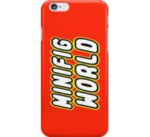 MINIFIG WORLD iPhone Case/Skin