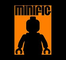 Retro Large Black Minifig by Customize My Minifig by ChilleeW