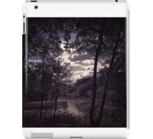 Light breaking through the clouds at Worsley woods  iPad Case/Skin