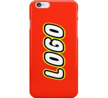 LOGO by Customize My Minifig iPhone Case/Skin