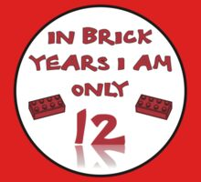 IN BRICK YEARS I AM ONLY 12 by ChilleeW