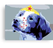Wunderhund - Brittany Spaniel #2 Canvas Print