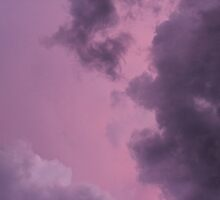 Storm Clouds at Sunset (1) by mlleruta