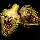 Artichoke hearts by Rosemary Sobiera