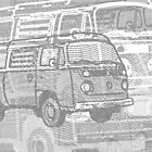 Grey Bay Campervan Montage by Ra12