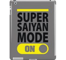 Super Saiyan Mode On iPad Case/Skin