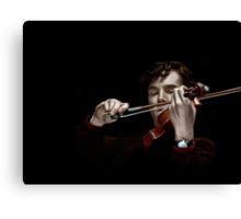 The Violinist Canvas Print