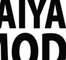 Super Saiyan Mode On Sticker