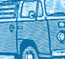 Blue Bay Campervan Dub-U King Size Duvet (please see description), Pillow and Tote Sticker