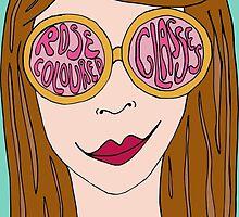 Rose Coloured Glasses by Ruta Rudminaite