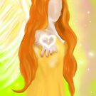 Angel of Joy and Inner Self Confidence by TriciaDanby