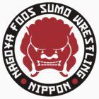 Nagoya Foos Sumo Wrestling by JamesShannon