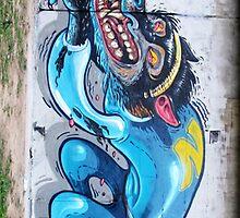 Graffiti Wall. by LewisJamesMuzzy