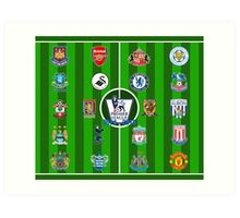 EPL~English Premier League 2014~2015 Art Print