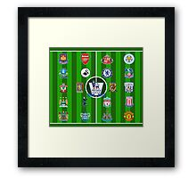 EPL~English Premier League 2014~2015 Framed Print