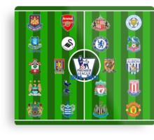 EPL~English Premier League 2014~2015 Metal Print
