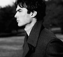 Ian Somerhalder  by Sara Barnes