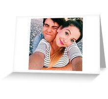 Zalfie cuddle  Greeting Card