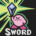 Kirby Sword by likelikes